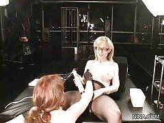 The one source that everyone should go to for the best sex advice is Nina Hartley. She's to thank for so many porn stars knowing what to do in porn, and for so many guys and girls for learning how to do things properly in bed and fuck like pornstars. And