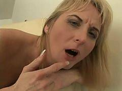 Old Mature Women Licking and Sticking Pussies with Tongues and Toys!