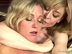 Nina Loves Girls #02, Scene #02 Nina Hartley, Dia Lewa