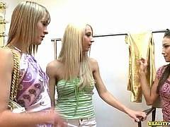 Not only are these girls best friends, but they all live together and share everything. They even go out in public and pick up other girls to bring back to the apartment and fuck. It's an ultra hot amateur lesbian site featuring three horny girls that lov